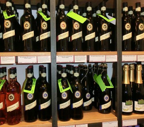 Vegane Weine oder alkohlfreier Sekt und Weisswein