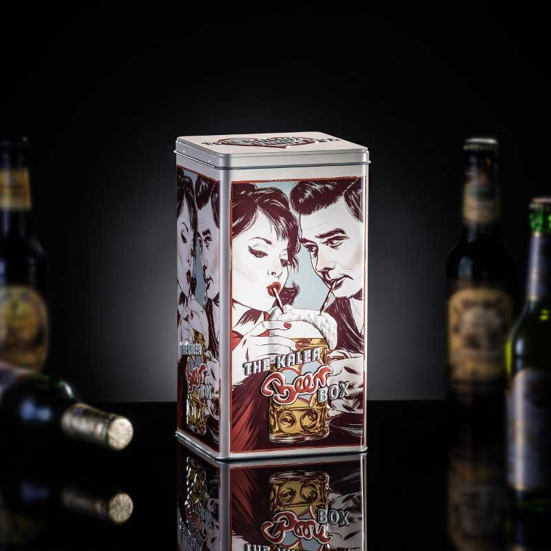 Kalea Retro Beer Box Geschenkset