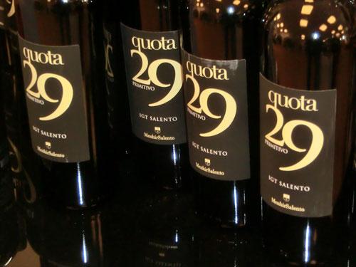 Rotwein quota 29 kraftvoller Wein aus Apulien